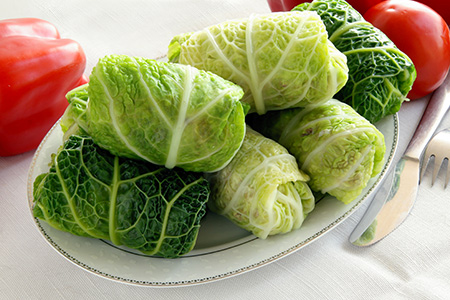Kosher Stuffed Cabbage