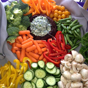 Vegetable Catering Tray